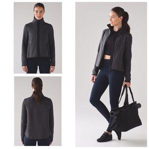 Lululemon Its Fleecing Cold Zip Up Jacket